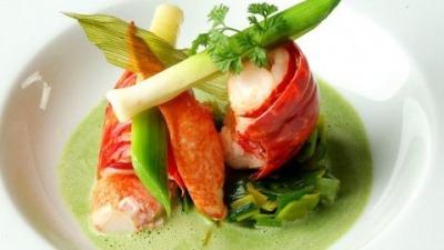 Restaurant food presentation ideas vertical