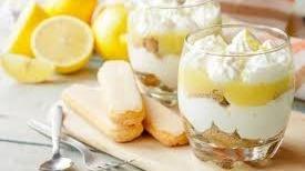 Tiramisu al limone
