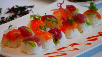 Ssiette sushis