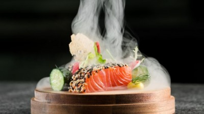 Marinated Salmon with Pickled Vegetables