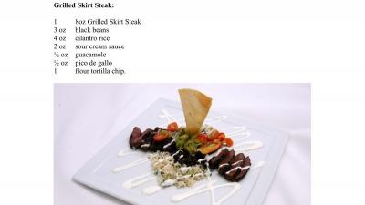 Grilled Skirt Steak FP 1