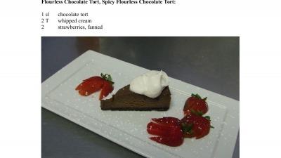 Flourless Chocolate Tort FP 1
