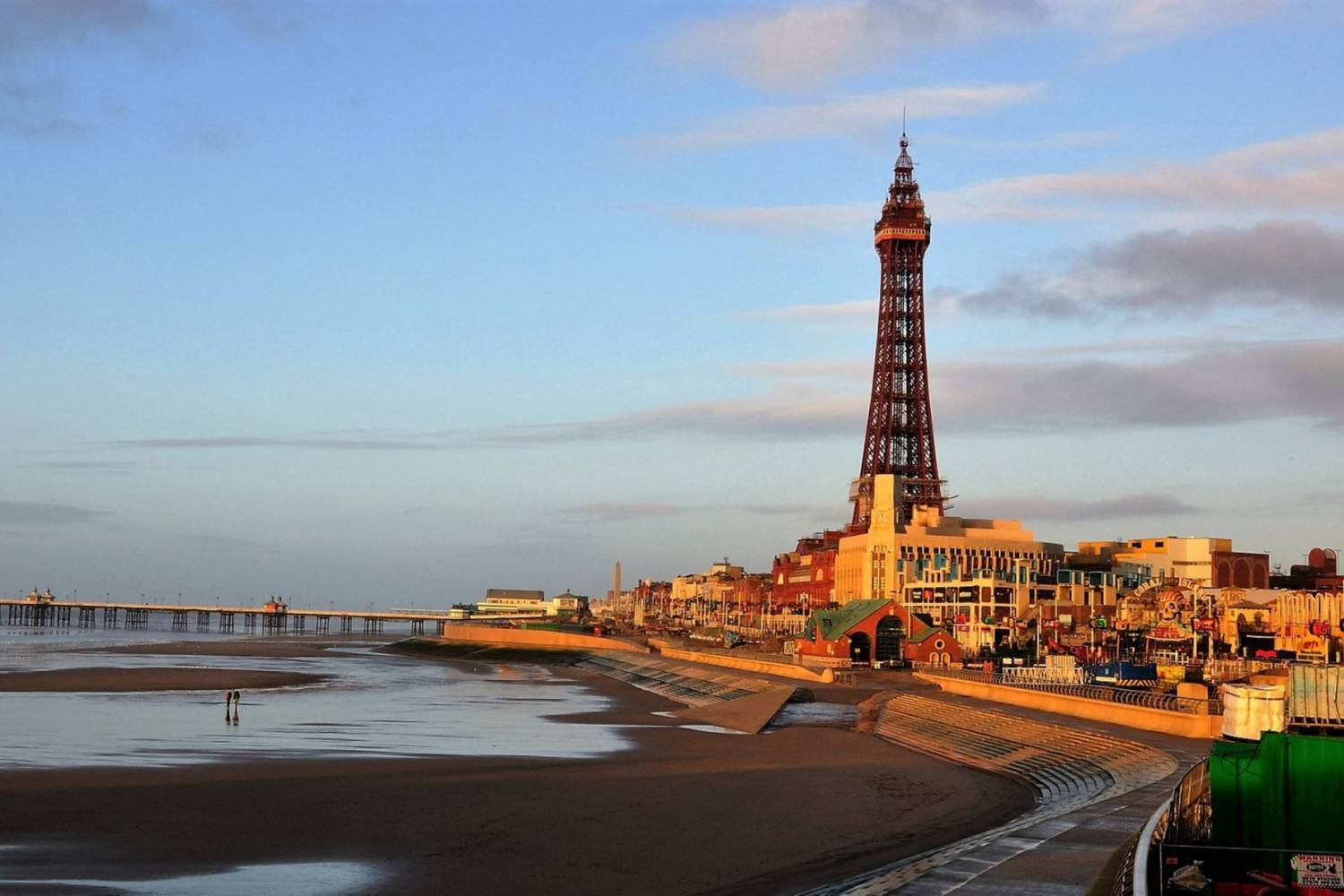Beautiful view in Blackpool- Take a Chef