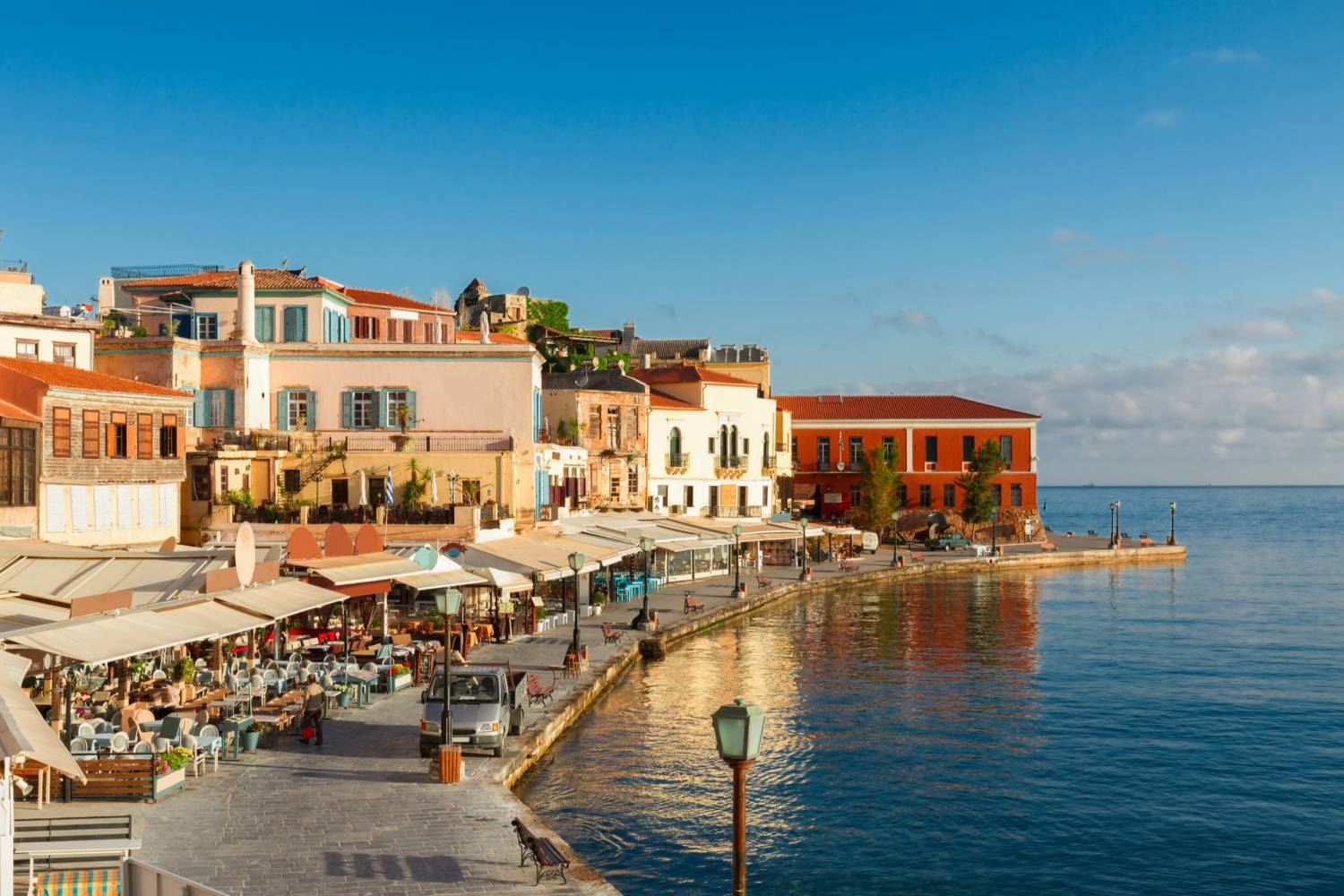 Areal view of Crete - Take a Chef