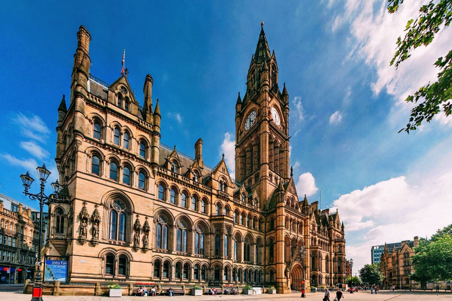 Amazing views of Manchester- Take a Chef