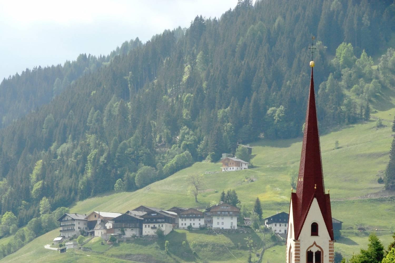Amazing air views of St Lorenzen - Take a Chef