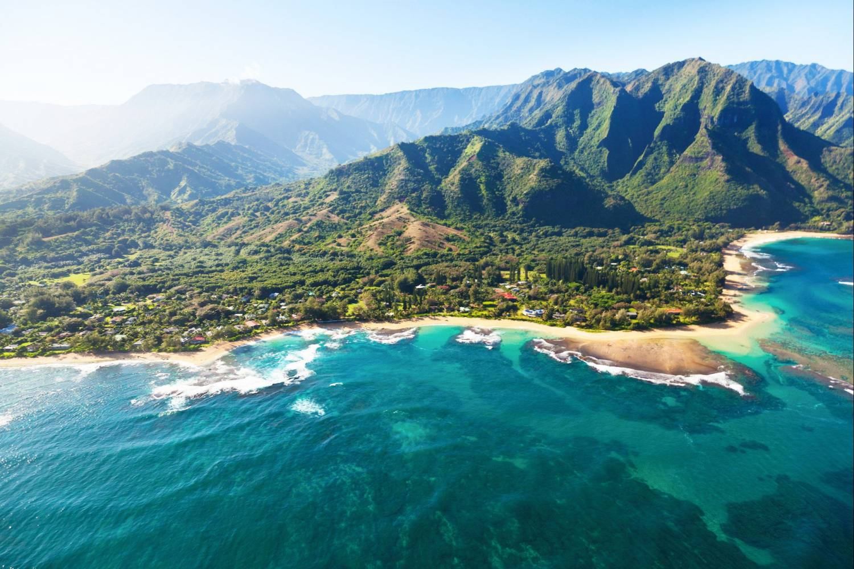 Amazing view of Big Island