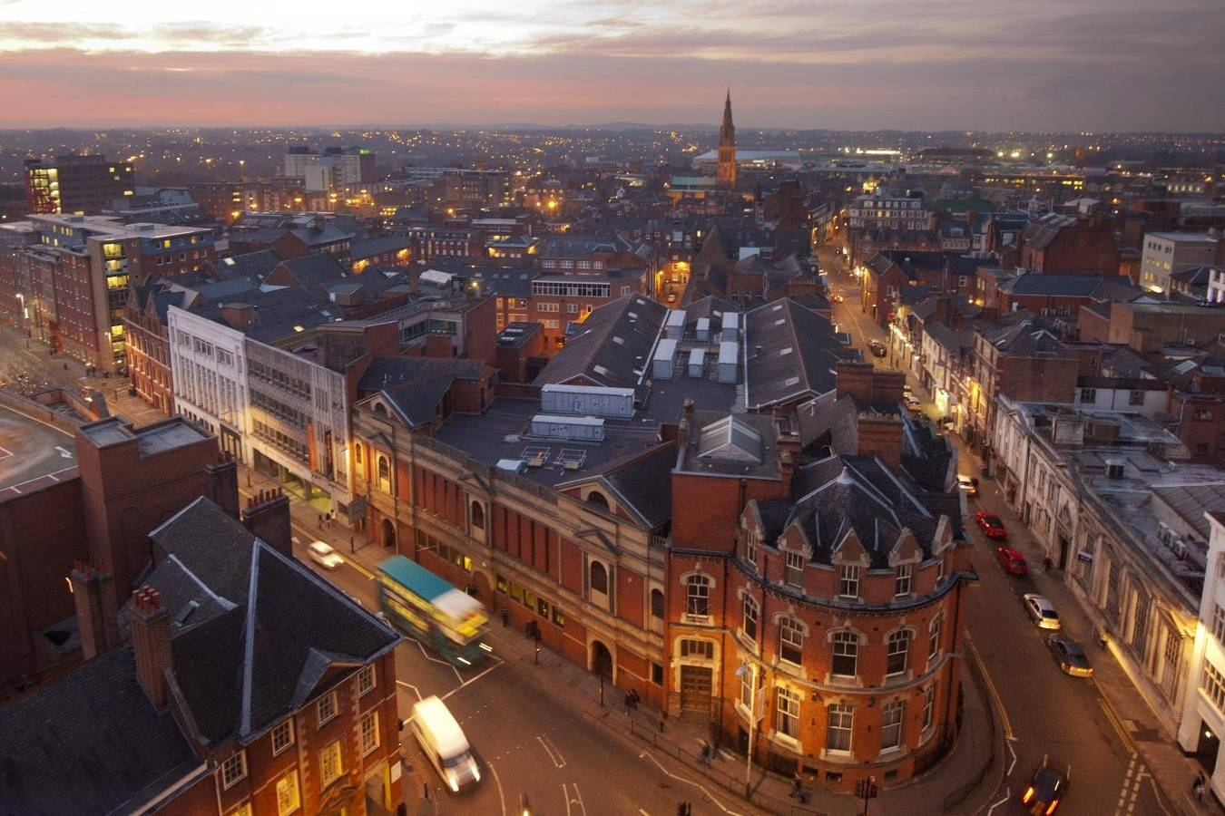 Amazing views of Leicester- Take a Chef