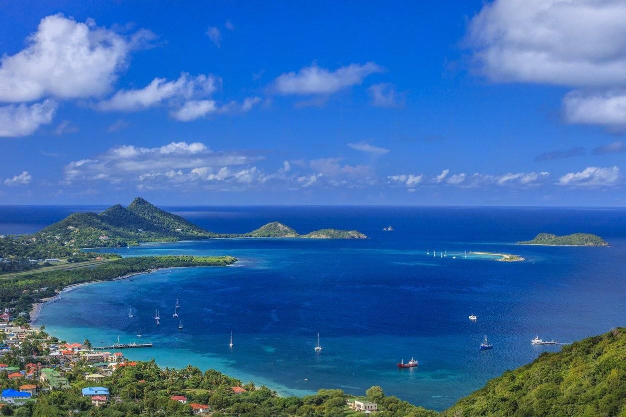 Beautiful views of the island of Grenada - Take a chef