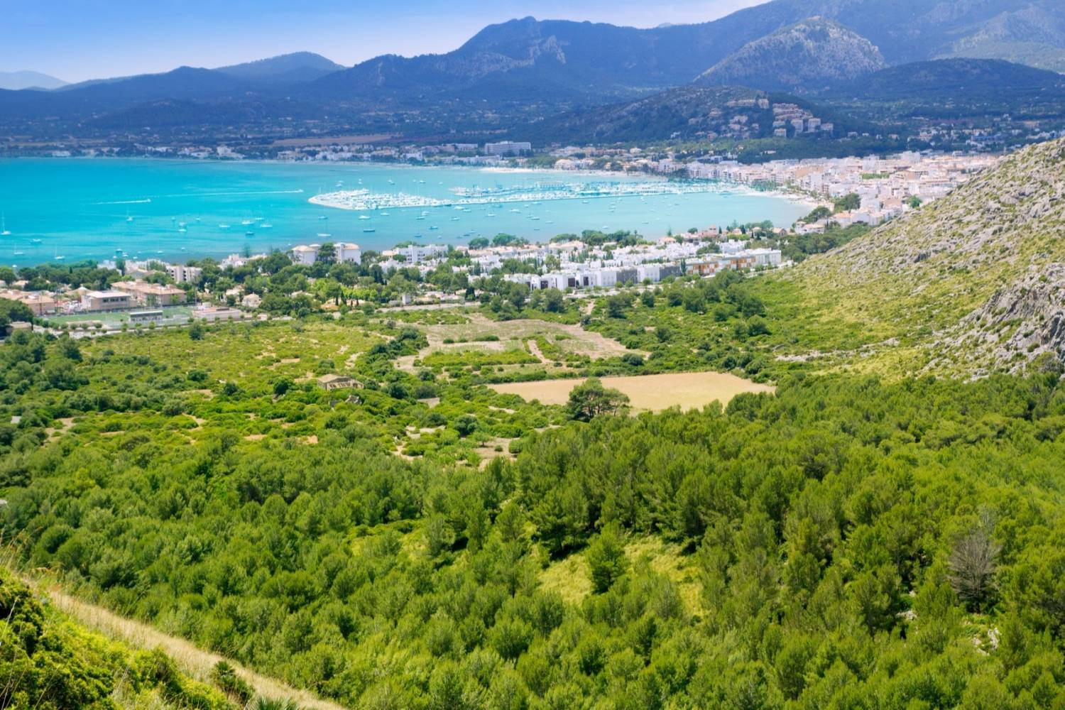 Beautiful views in Pollensa - Take a Chef