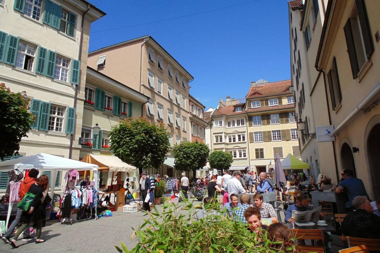 Market in Winterthur - Take a Chef