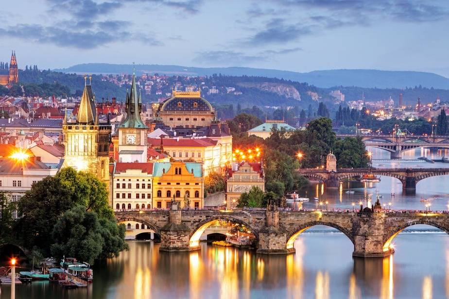 Famous bridge in Prague - Take a Chef