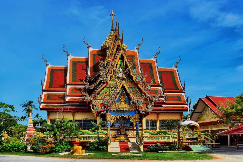 Temple in Plai Laem - Take a Chef