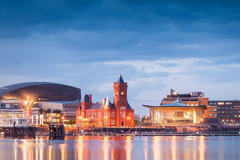 Amazing views of Cardiff- Take a Chef