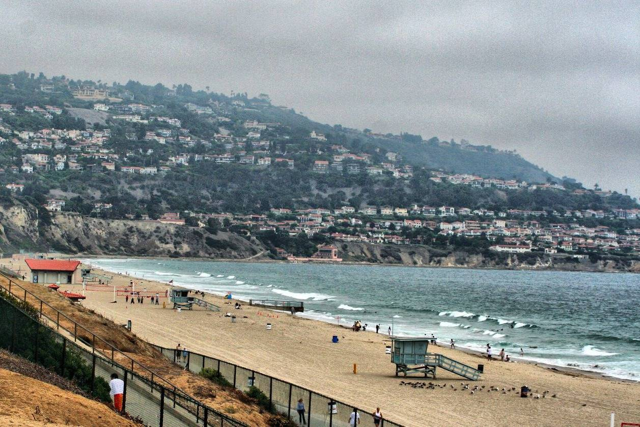 Beautiful view of the beach in Torrance
