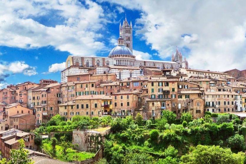 Amazing views of Siena- Take a Chef