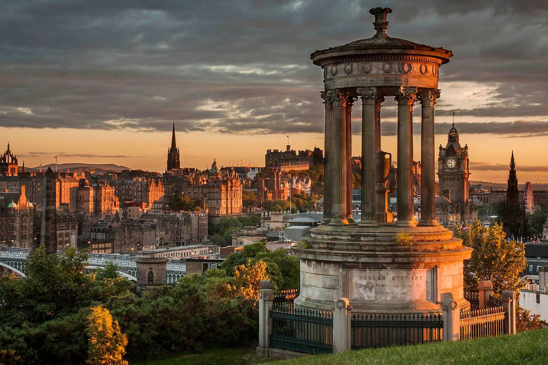 Amazing views of Edinburgh- Take a Chef