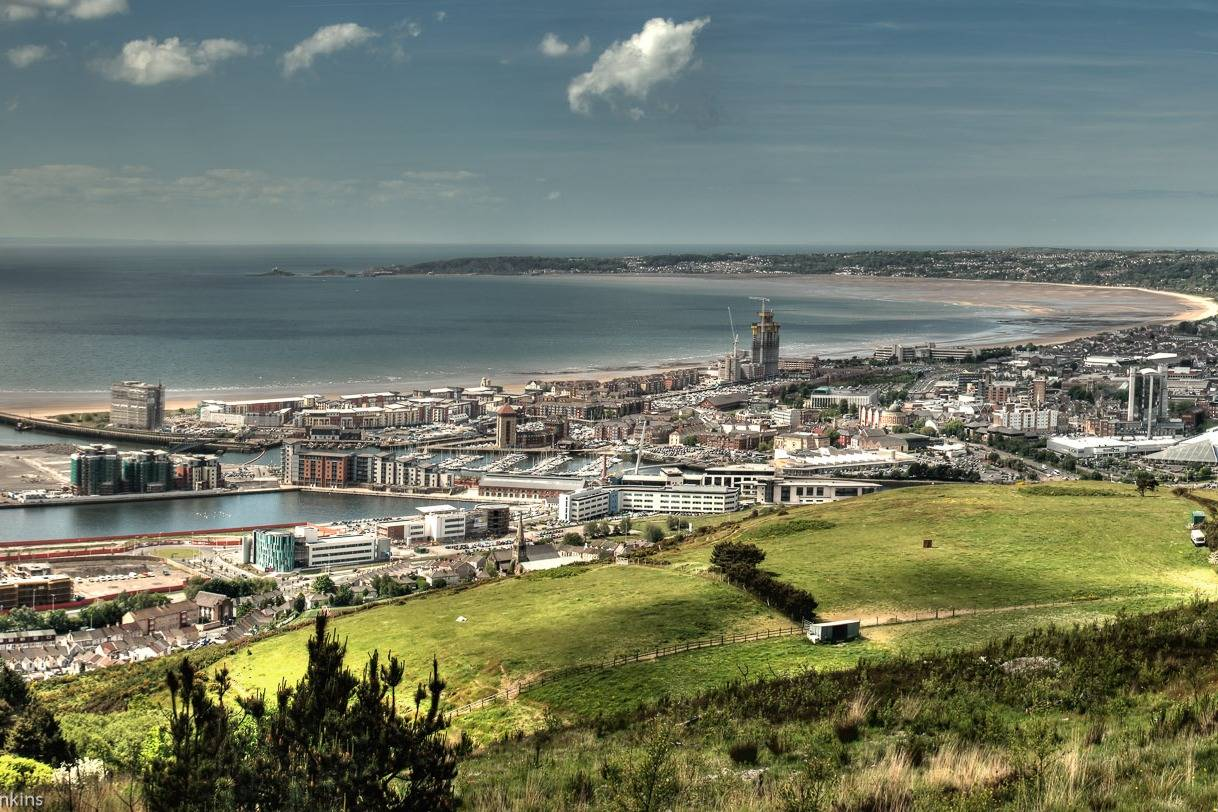 Amazing views of Swansea- Take a Chef