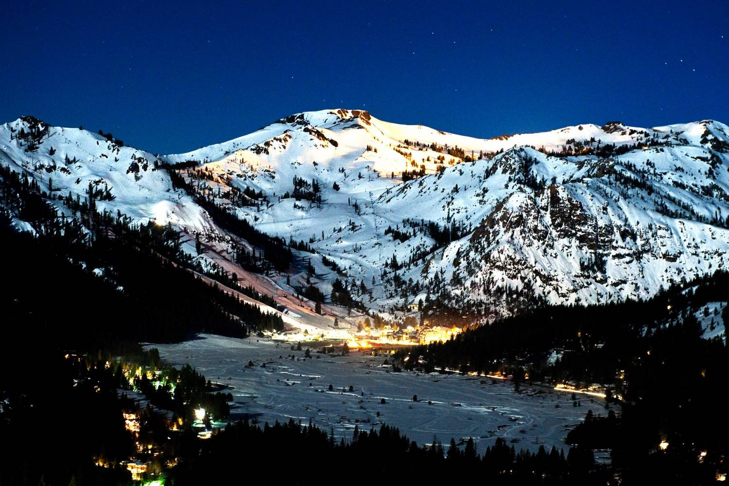 Enjoy a private chef after an amazing day in Squaw Valley California