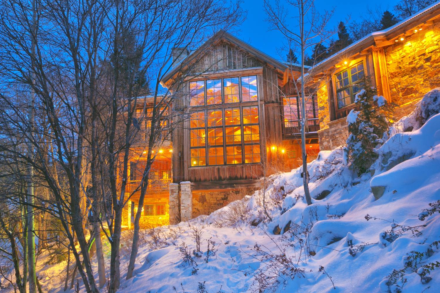 Enjoy a private chef after an amazing day in Sundance Resort