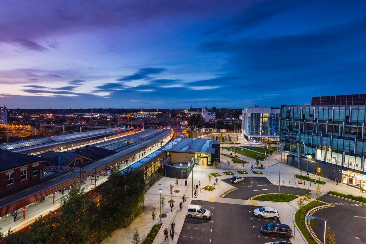 Amazing views of Stockport- Take a Chef