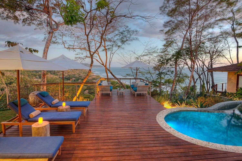 Dazzling view from villa in Playa Hermosa - TAKEACHEF, header