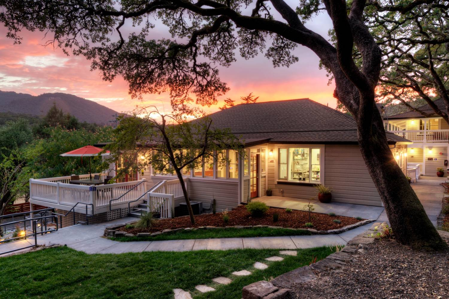 Enjoy a private chef after an amazing day in Glen Ellen California