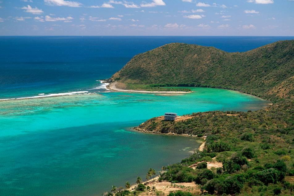Amazing air views of Nail Bay´s beach - Take a Chef