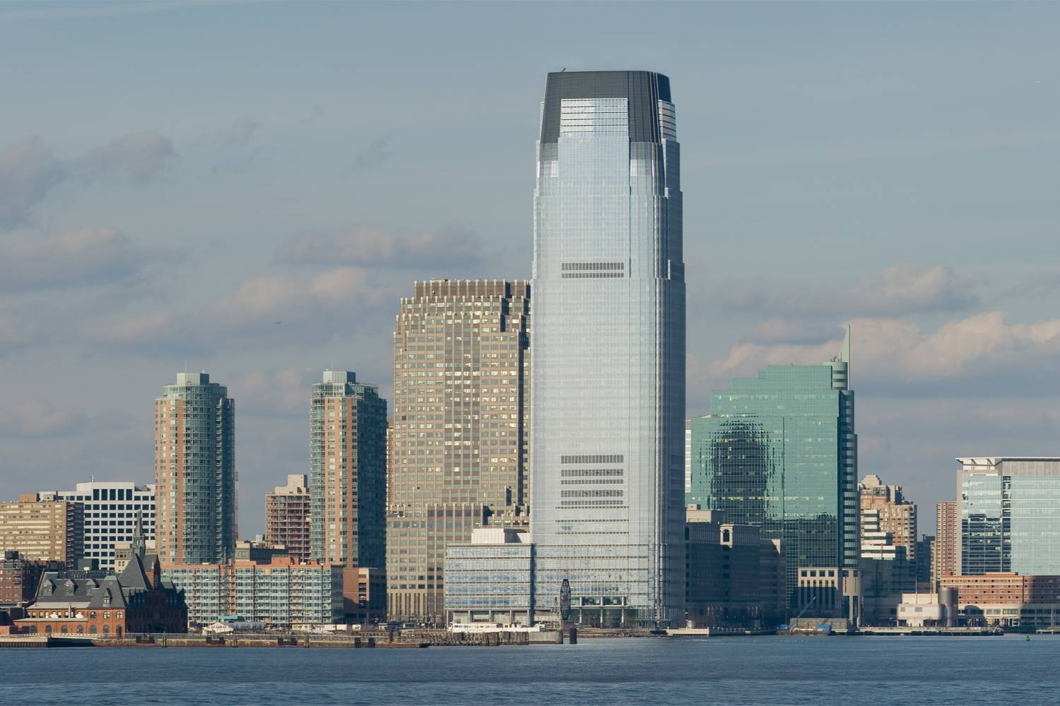 Panoramic view of Jersey City