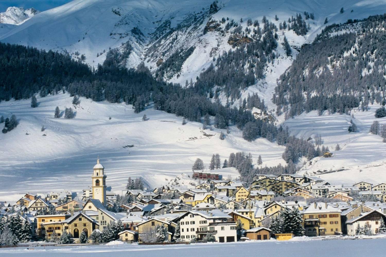 Amazing views of Saint Moritz - Take a Chef