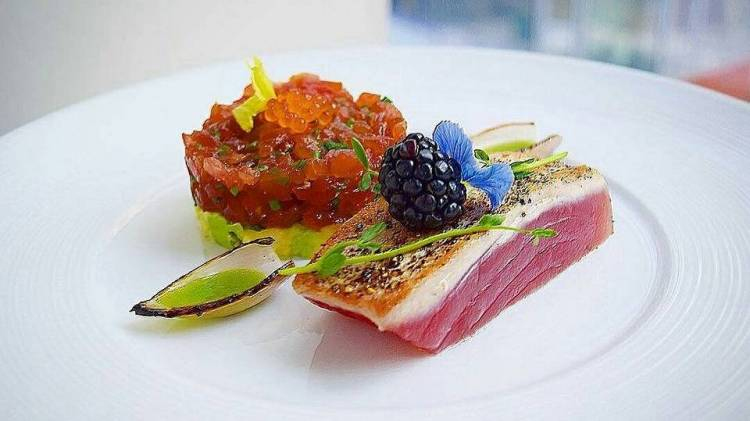 Dish prepared by a Private Chef in Adelaide.