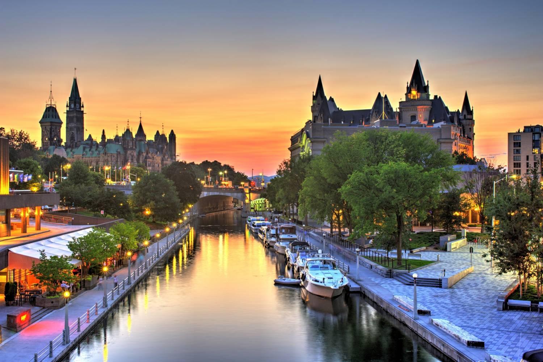 Beautiful view in Ottawa.- Take a Chef