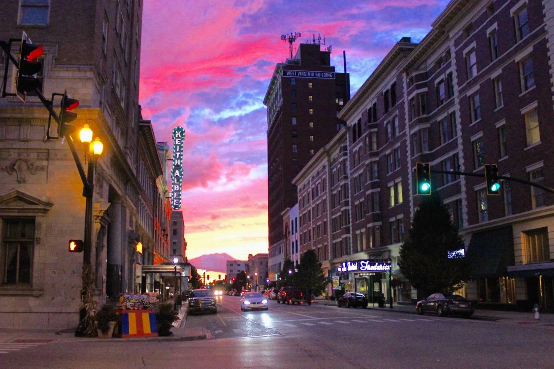 Lovely sunset in Huntington