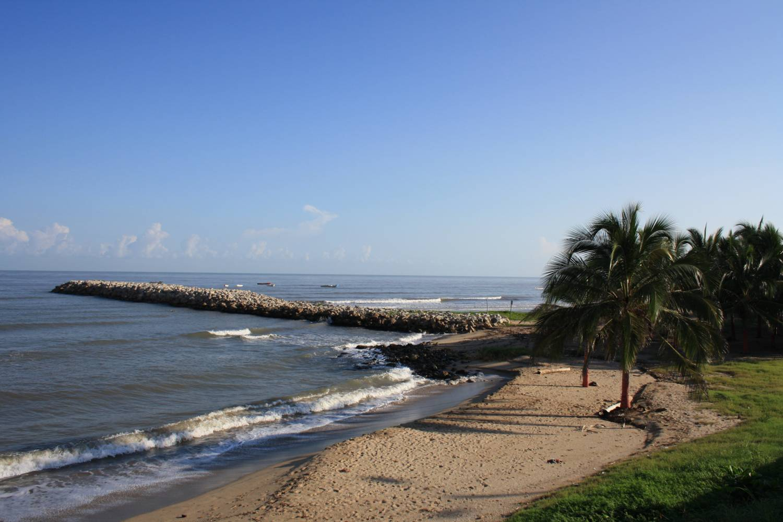 Beautiful beach at Dominical