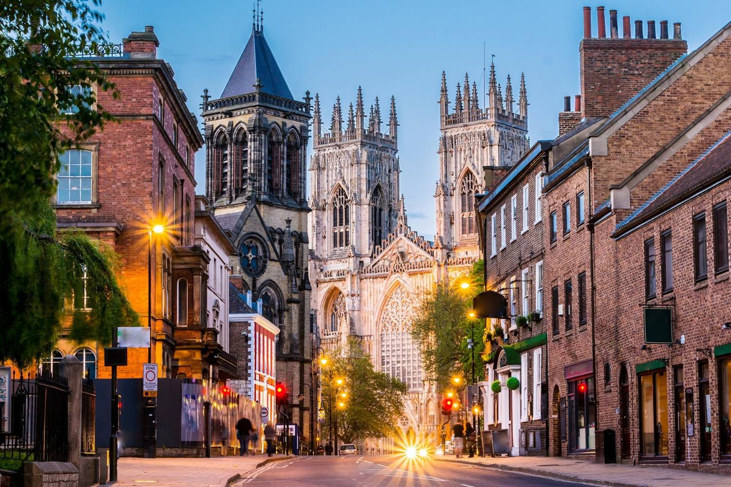 Beautiful view in York.- Take a Chef