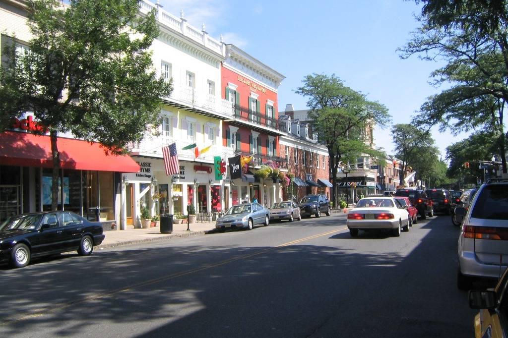 Plainfield's Downtown View