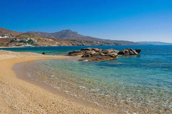 Beautiful views of Super Paradise´s beach - Take a Chef