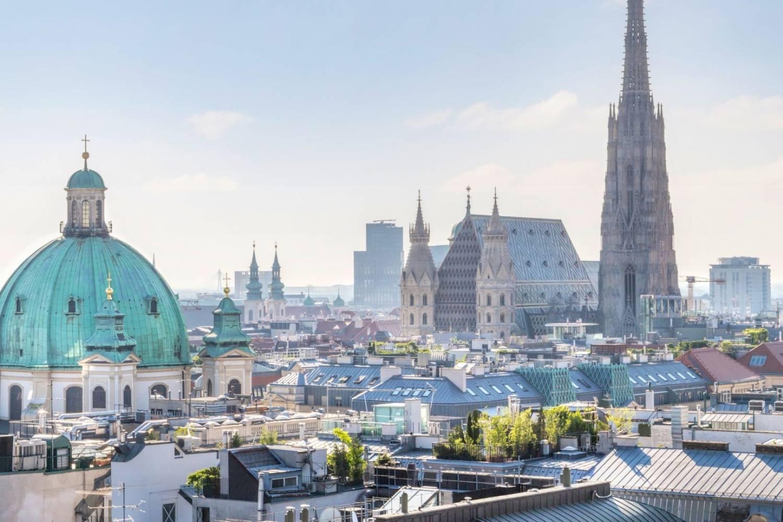 Geweldig uitzicht op de stad Viena - Take a Chef