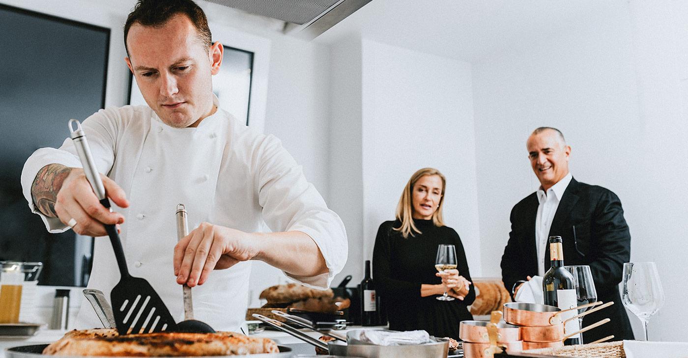 Private Chef in Belvedere header