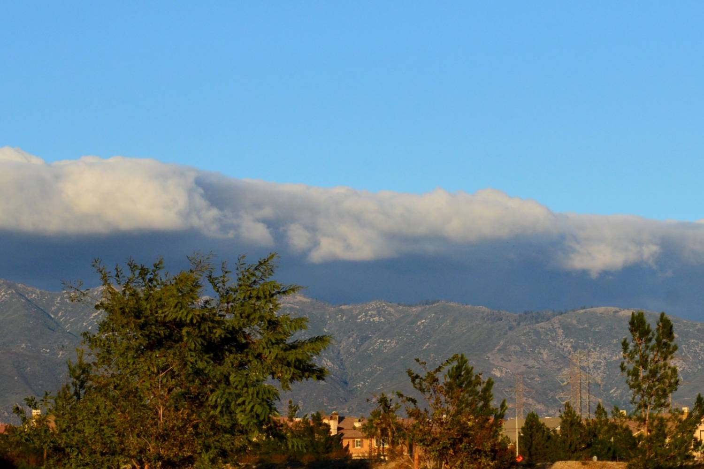 Mountain view at Fontana