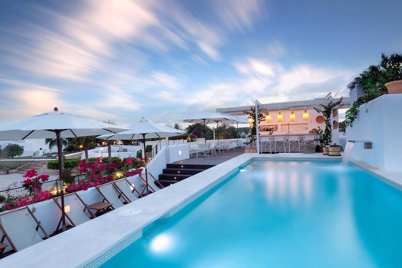 Areal view of Santa Gertrudis de Fruitera hotels - Take a Chef